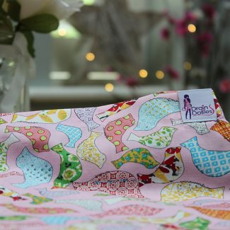 Pretty Bird Print Drain Dolly
