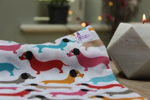 Sausage Dogs Print Drain Dolly