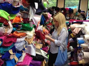 Charlotte Wood Selecting Fabrics