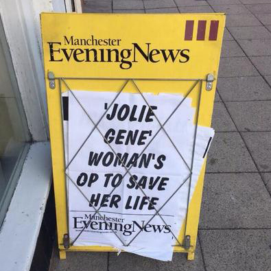 Manchester Evening News A Board
