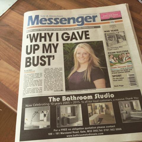 Messenger Newspaper Article